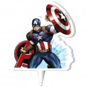 Avengers Captain Amercia Candle