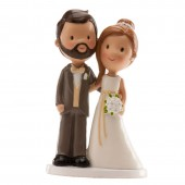 Cute Wedding Couple Cake Topper