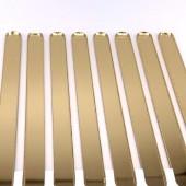Popsicle Sticks Pk/8 - Mirror Gold