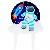 Gum Paste Spaceman Topper
