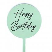 Baby Paddle - Mint Green Happy Birthday