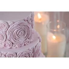 Karen Davies Ruffled Roses Mould