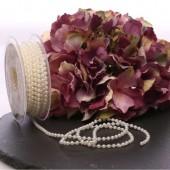 4mm Ivory Pearls x 10m Roll
