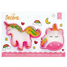 Decora Magic Unicorns Cookie Cutters