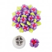 Decora Nozzle - Flower with 4 Petals
