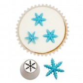 Decora Nozzle - 3D Frozen Star