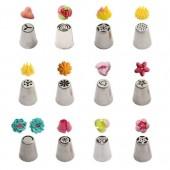 12 Decora Flower Nozzles Box No.1