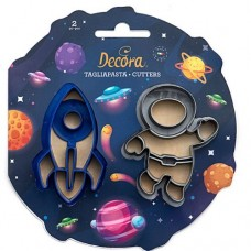 Decora Space Cookie Cutters