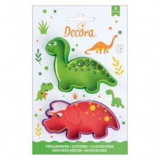 Decora Dino Cookie Cutters