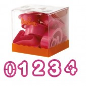 Decora Numbers Cutters Set/9