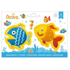 Decora Fish Cookie Cutters