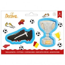 Decora Trophy & Football Boot Cookie Cutters