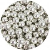 10mm Chocoballs - High Shine Metallic Silver