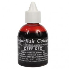 Sugarflair Airbrush Deep Red 60ml