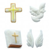 Culpitt Communion Sugar Decorations Pk/12