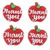 Thank You Apple Sugar Pipings Pk/12