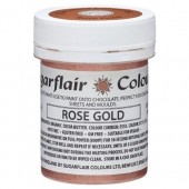 Sugarflair Chocolate Colouring Paint - Rose Gold