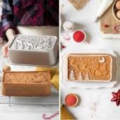 Decora Die-Cast Aluminium Santa Claus Cake Tin