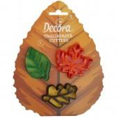 Decora Autumn Leaf Cutters Set/3