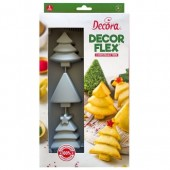 Decora Christmas Trees Silicone Mould