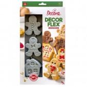 Decora Gingerbread Silicone Mould