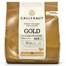 400g Callebaut Belgian Gold Chocolate