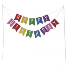 Dekora Happy Birthday Bunting Banner