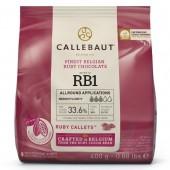 400g Callebaut Belgian Ruby Chocolate