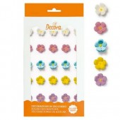 Decora Assorted Mini Sugar Flowers Pk/30