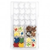 Decora Chocolate Mould - Puzzle