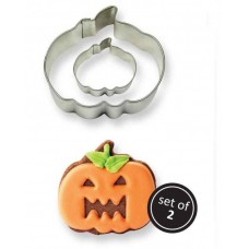 PME Pumpkin Cookie Cutters Set/2