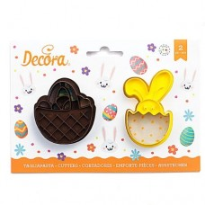 Decora Basket & Bunny Cutters Set/2