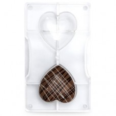 Decora Chocolate Mould - 67mm Hearts