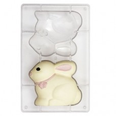 Decora Chocolate Mould - Small Bunny
