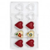 Decora Chocolate Mould - 35mm Hearts