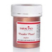Saracino Powder Pearl Food Colour - Copper