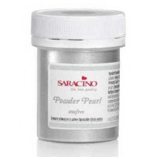 Saracino Powder Pearl Food Colour - Silver