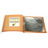 Edible Silver Leaf Transfer Sheets Pk/25