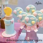Porto Formas Round Lollipop Mould