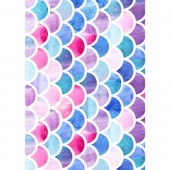 Mermaid Scales Wafer Paper Sheets Pk/3