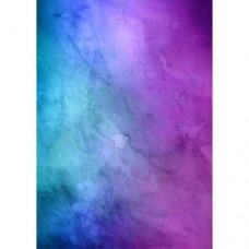 Purple & Blue Watercolour Wafer Paper Sheets Pk/3