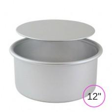 """PME Loose Bottom Round Cake Pan - 12"""" x 3"""""""