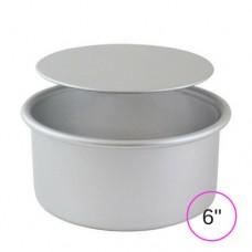 """PME Loose Bottom Round Cake Pan - 6"""" x 3"""""""