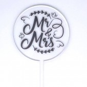 Baby Paddle - Clear Fancy Mr & Mrs