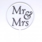Baby Paddle - Clear Mr & Mrs