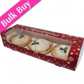Mince Pie Christmas Snowflakes Box