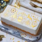 Decora Cake Stencil - Christmas Decorations