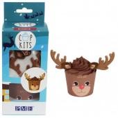 PME Reindeer Cupcake Kit