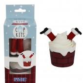 PME Santa Cupcake Kit