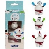 PME Snowman Cupcake Kit
